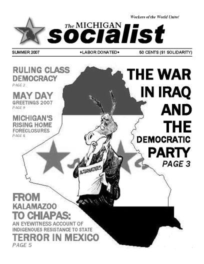 The Michigan Socialist – Summer 2007