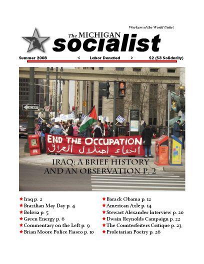 The Michigan Socialist – Summer 2008